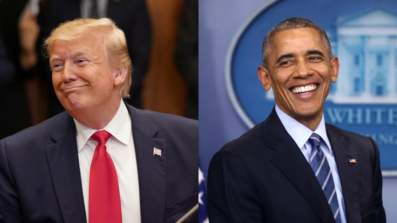 Ông Trump và ông Obama cùng được ngưỡng mộ nhất năm 2019 - ảnh 1