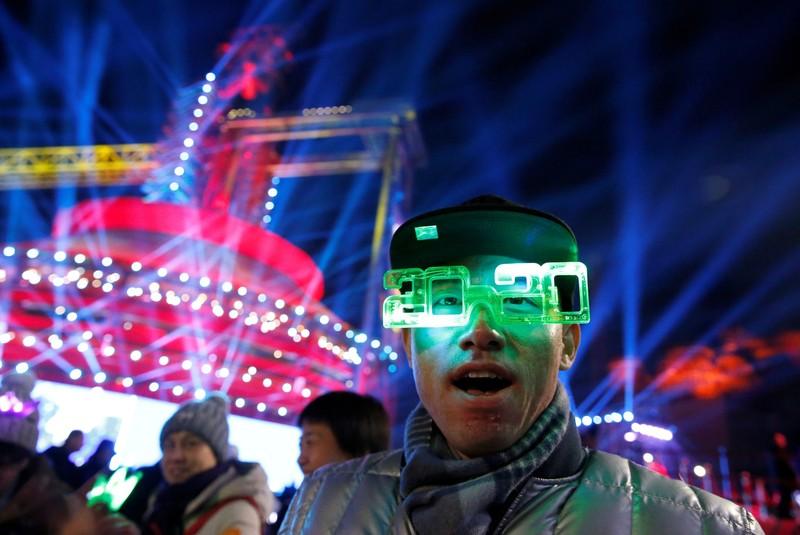Hình ảnh thế giới ngập tràn trong pháo hoa đón năm mới - ảnh 9