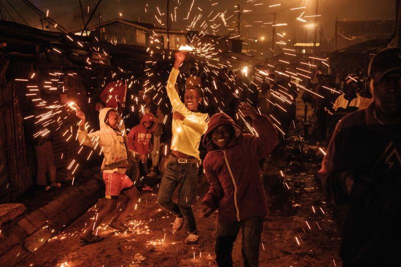 Hình ảnh thế giới ngập tràn trong pháo hoa đón năm mới - ảnh 5