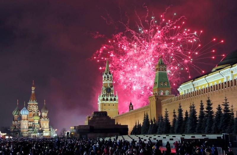 Hình ảnh thế giới ngập tràn trong pháo hoa đón năm mới - ảnh 3