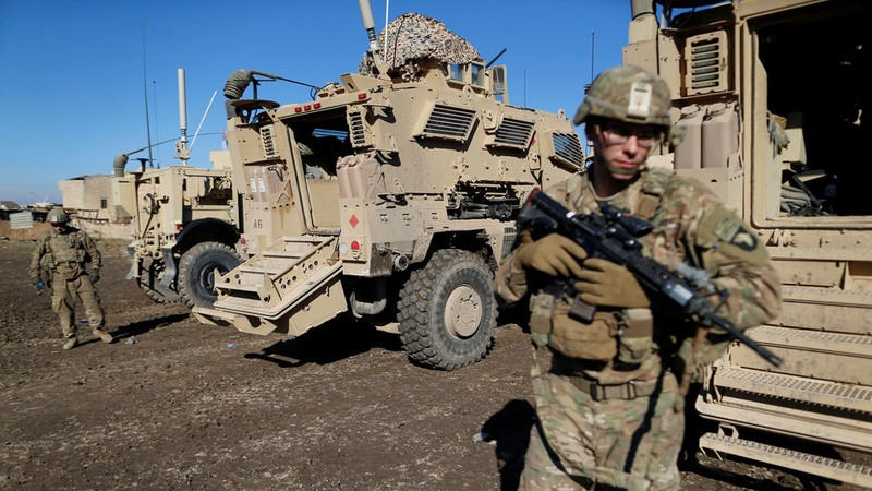 Mỹ triển khai 3.000 quân đến biên giới Iran - ảnh 1