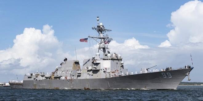 Tàu chiến Nga suýt va chạm tàu khu trục Mỹ trên biển Arab - ảnh 2