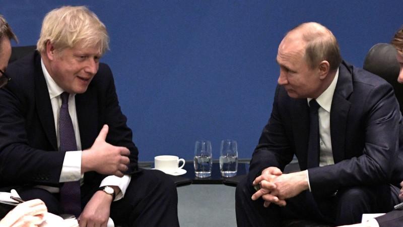 Gặp ông Putin, thủ tướng Anh nói rắn chưa bình thường quan hệ - ảnh 1