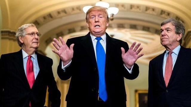 Luật sư ông Trump kêu gọi trắng án tại phiên tòa Thượng viện - ảnh 1