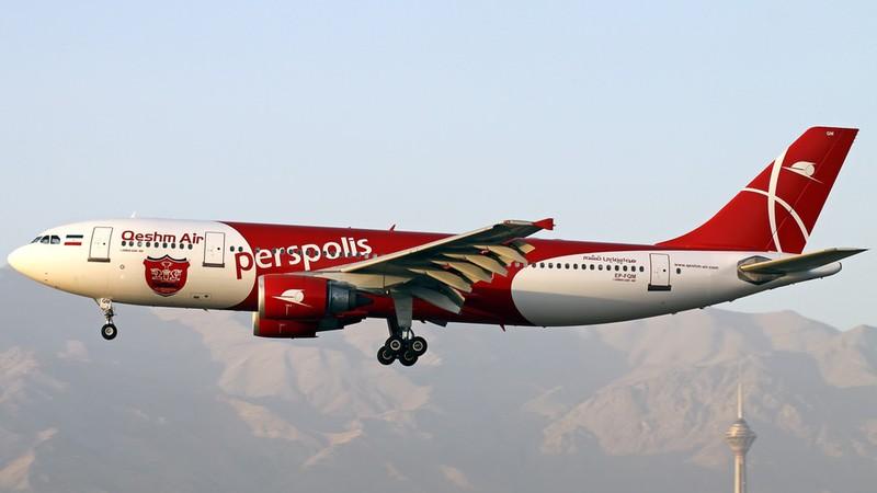 Máy bay Iran hạ cánh khẩn vì động cơ bốc cháy ngùn ngụt - ảnh 1