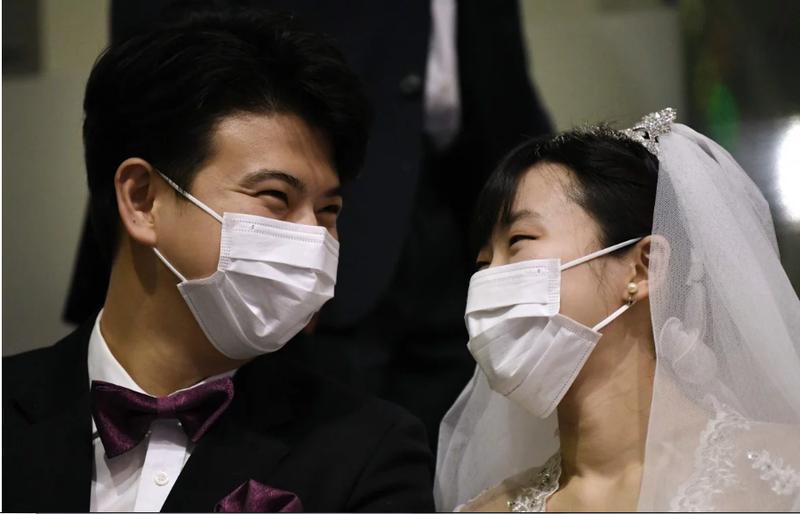 30.000 người xem 6.000 cặp cưới tập thể trong mùa dịch Corona - ảnh 1