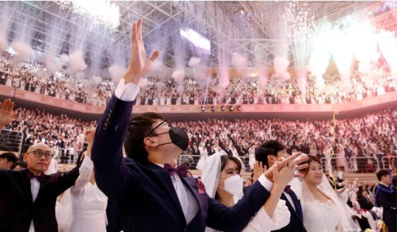 30.000 người xem 6.000 cặp cưới tập thể trong mùa dịch Corona - ảnh 3