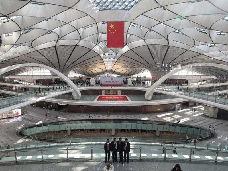 Bất chấp dịch COVID-19, Trung Quốc vẫn bơm tiền xây sân bay - ảnh 1