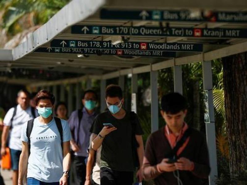 Singapore: Ca mới tăng kỷ lục, nguy cơ người về từ vùng dịch - ảnh 1