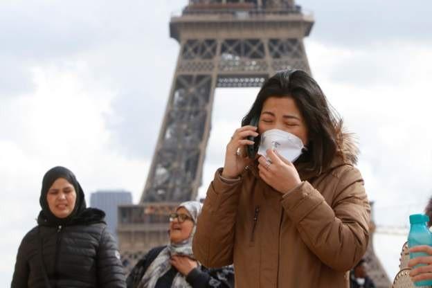 COVID-19 Pháp: 11.000 ca nhiễm, thiếu khẩu trang trầm trọng - ảnh 2