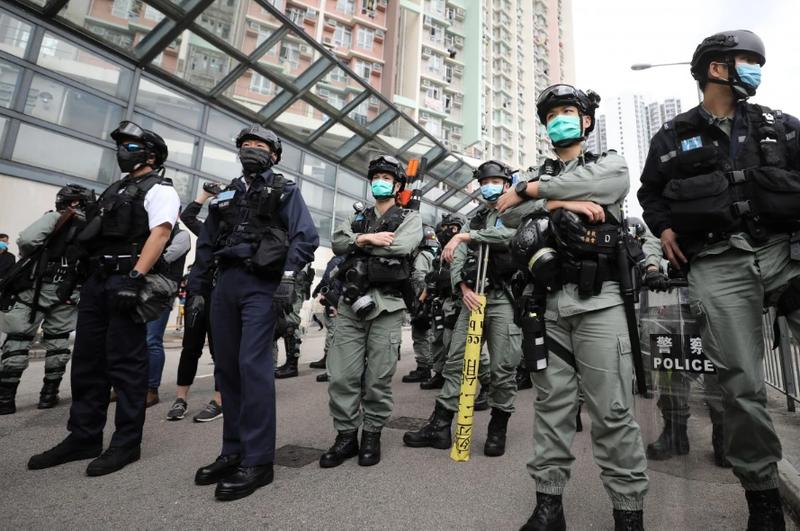Đồng đội nhiễm COVID-19, cả đơn vị 130 cảnh sát phải cách ly - ảnh 1