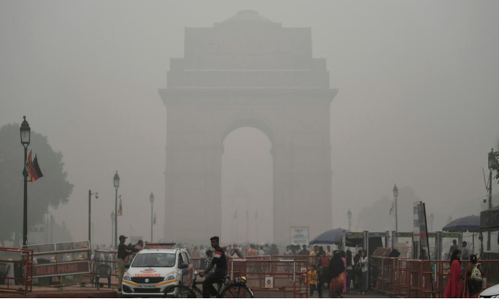 Mức độ ô nhiễm ở Ấn Độ giảm rõ rệt sau 5 tuần phong tỏa toàn quốc. Ảnh: CNN 1