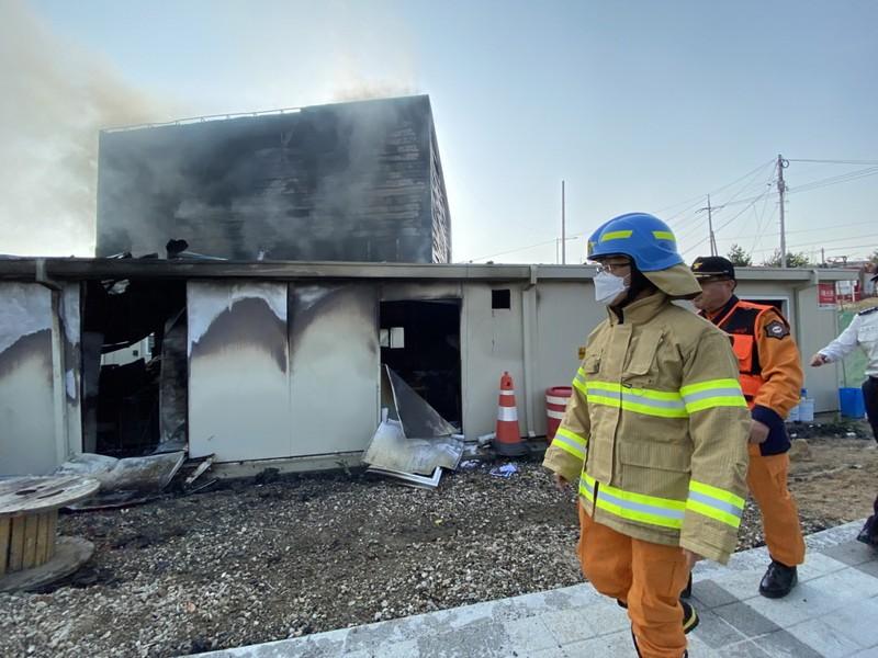 Cháy công trình xây dựng, 25 công nhân thiệt mạng - ảnh 1