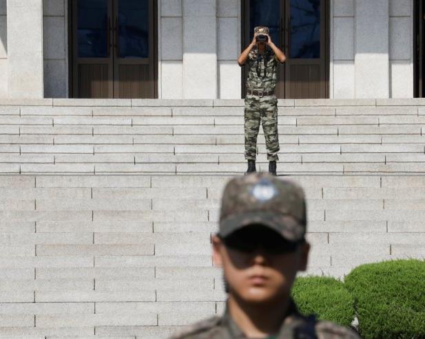 Nổ súng ở biên giới Hàn-Triều - ảnh 1