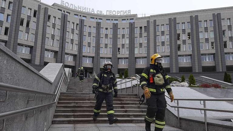 Nga: 4 ngày, cháy 2 bệnh viện điều trị bệnh nhân COVID-19  - ảnh 1