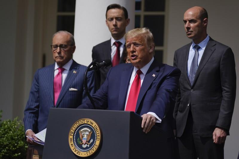 Ông Trump: 'Đây là ngày tuyệt vời đối với George Floyd' - ảnh 1