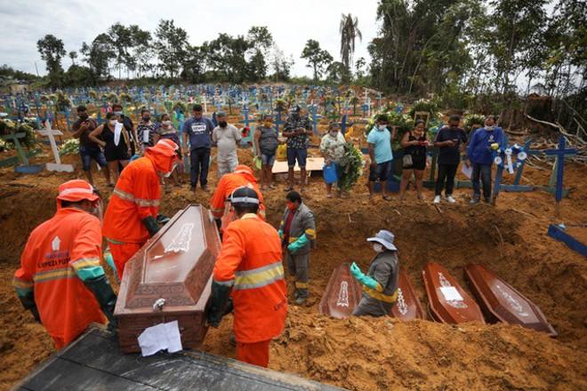 COVID-19: Kinh hoàng người chết ở Brazil cao thứ hai thế giới - ảnh 1