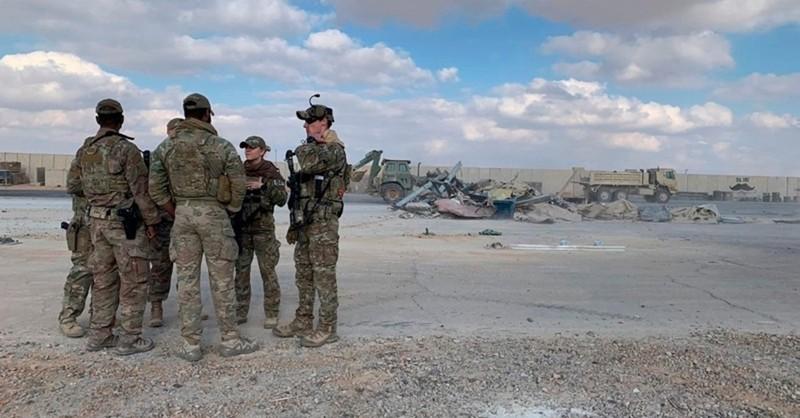 Căn cứ quân sự Mỹ ở Iraq hứng 2 tên lửa Katyusha Nga sản xuất - ảnh 1