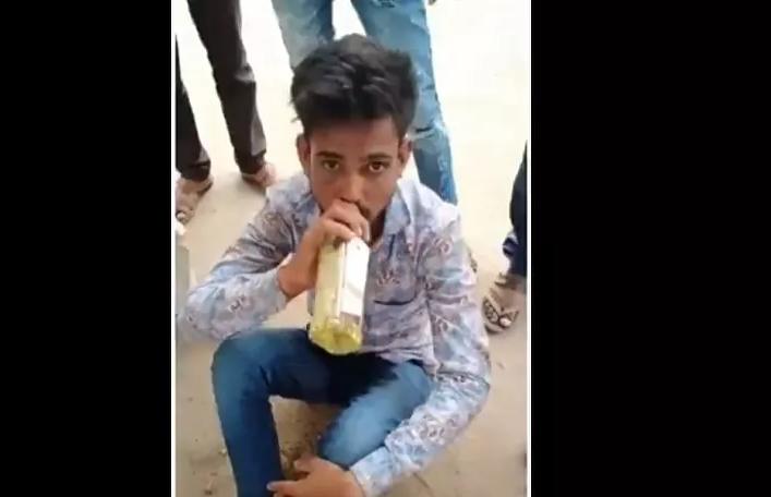 Bị phạt uống nước tiểu vì dan díu với phụ nữ có chồng - ảnh 1