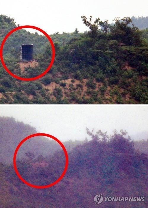Triều Tiên gỡ bỏ loa tuyên truyền tại giới tuyến - ảnh 1