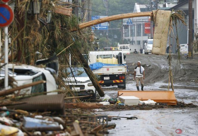 Lũ Nhật Bản: Ít nhất 18 người chết, 16 người nguy kịch - ảnh 4