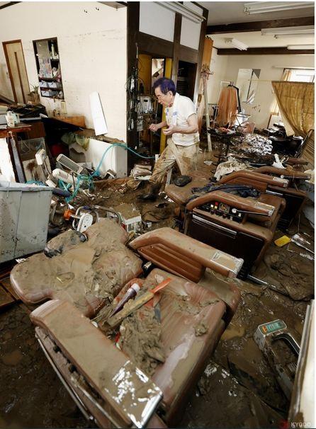 Lũ Nhật Bản: Ít nhất 18 người chết, 16 người nguy kịch - ảnh 3