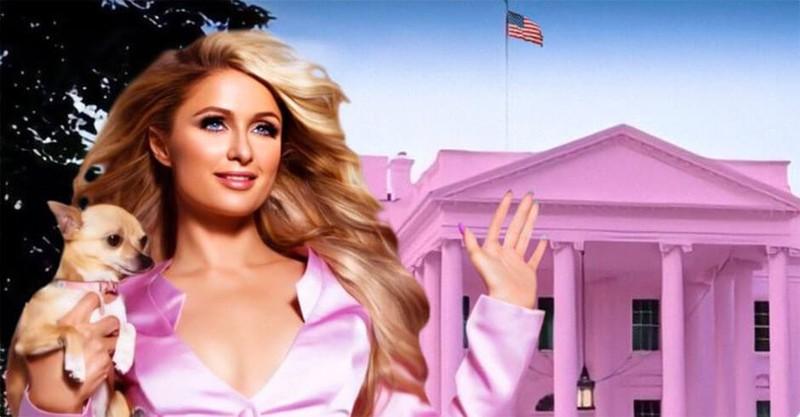 Paris Hilton muốn biến Nhà Trắng thành 'Nhà Hồng' - ảnh 1