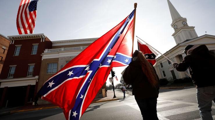 Lầu Năm Góc cấm treo cờ Liên minh miền Nam - ảnh 1
