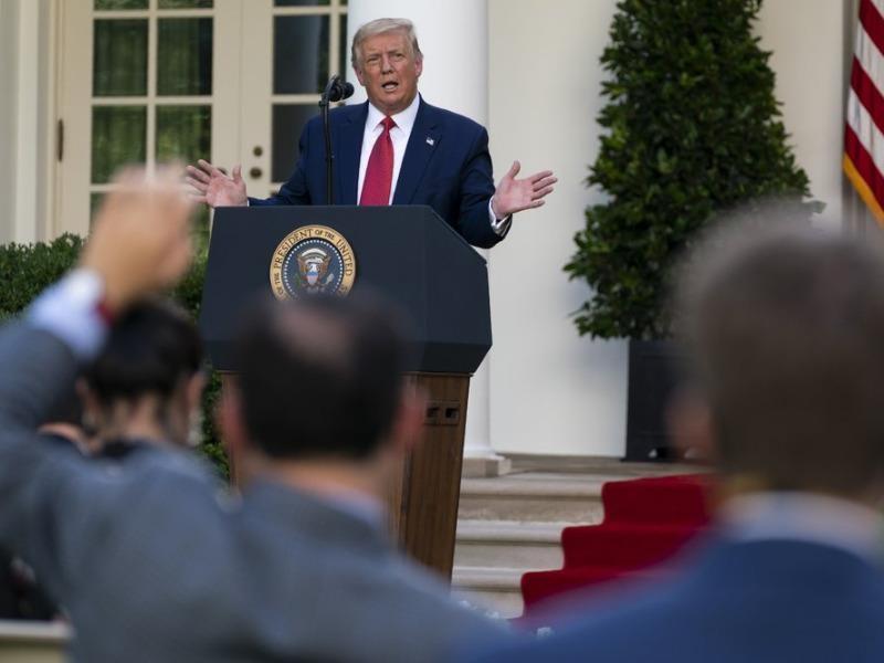 Ông Trump đòi mở cửa trường học, đa phần người Mỹ không chịu - ảnh 1