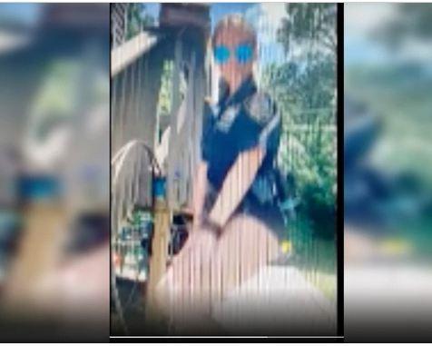 Nữ cảnh sát xinh đẹp bị sa thải vì đăng video sexy lên TikTok - ảnh 1