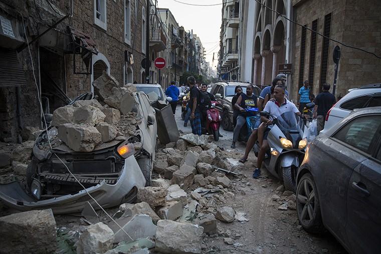 Nổ ở Lebanon: Giống tận thế - ảnh 8