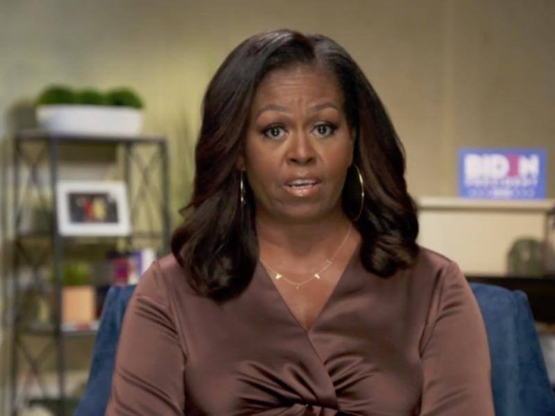 Michelle Obama: Ông Trump là 'tổng thống sai lầm' của nước Mỹ - ảnh 1