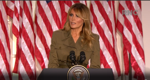 Đại hội đảng Cộng hòa: Bà Melania Trump phát biểu ủng hộ chồng - ảnh 1