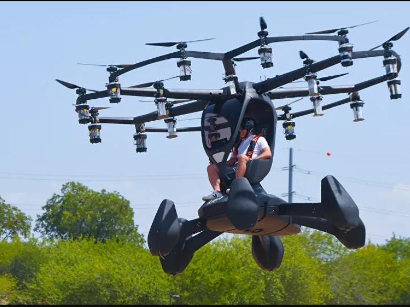 Lầu Năm Góc thử nghiệm xe hơi bay chạy bằng điện - ảnh 1