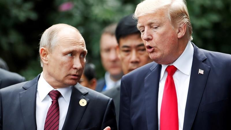 Người mà ông Trump ngưỡng mộ là ông Putin - ảnh 1