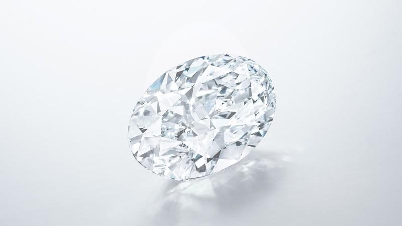 Viên kim cương 102,39 carat có thể được đấu giá 700 tỉ đồng - ảnh 1