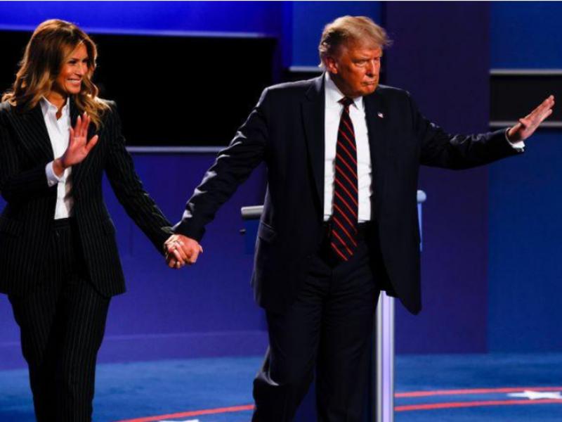 Nóng: Ông Trump và vợ dương tính với COVID-19 - ảnh 1