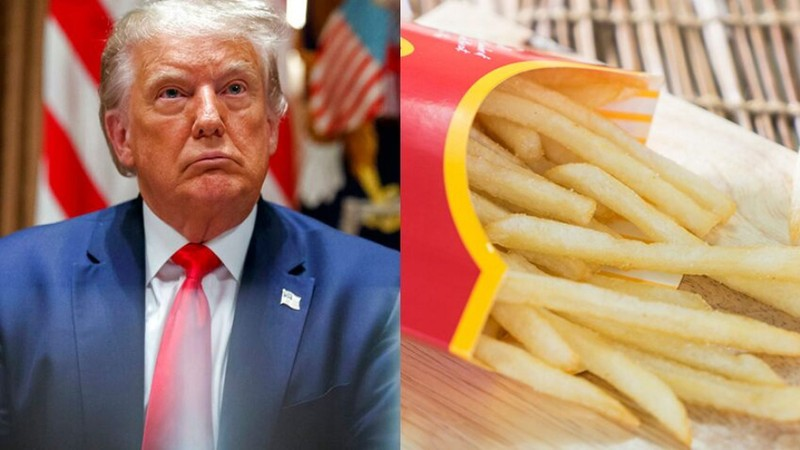 Ông Trump tiết lộ lý do mình không bị hói - ảnh 1