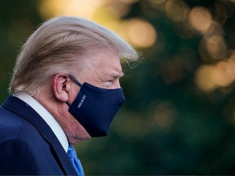 Video: Ông Trump lần đầu phát biểu sau khi mắc COVID-19 - ảnh 1