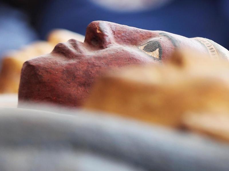 Ai Cập mở nắp quan tài xác ướp 2.500 năm  - ảnh 5
