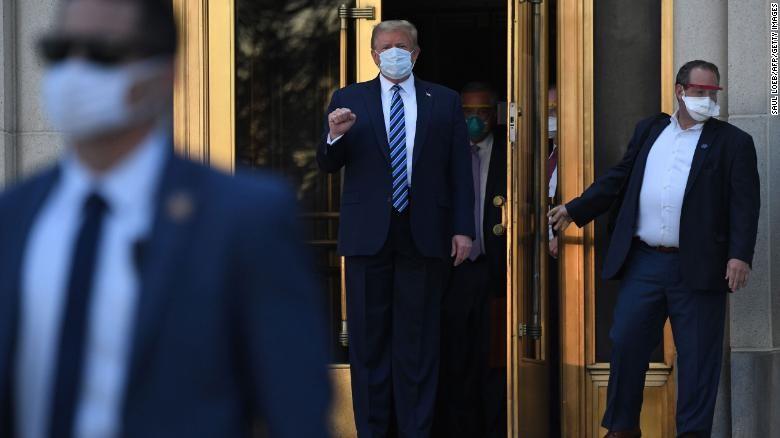 Ông Trump: Nhiễm COVID-19 là phước lành từ thượng đế - ảnh 1