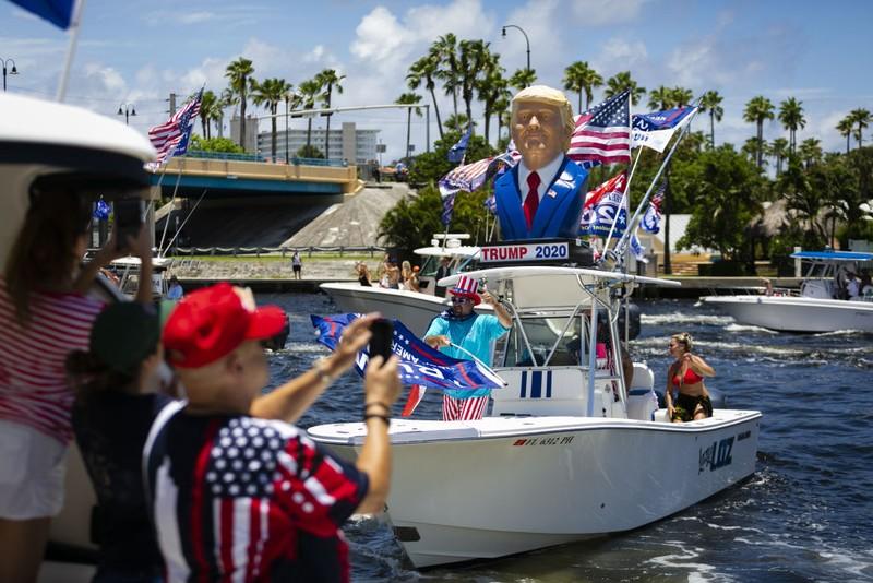 Người Florida có chào đón ông Trump sau khi ông rời Nhà Trắng? - ảnh 2