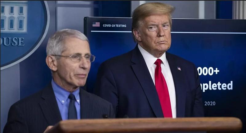 Ông Fauci: Ông Trump may mắn thoát chết khi nhiễm COVID-19 - ảnh 1
