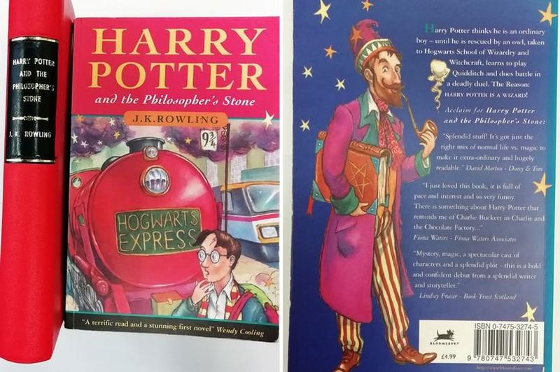 2 bản Harry Potter hiếm được rao bán với giá 3,4 tỉ  - ảnh 1