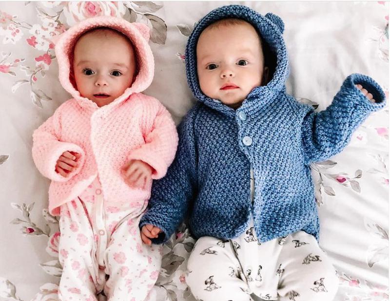 Mẹ mang thai 'siêu song sinh', 2 bé cách nhau 3 tuần - ảnh 1