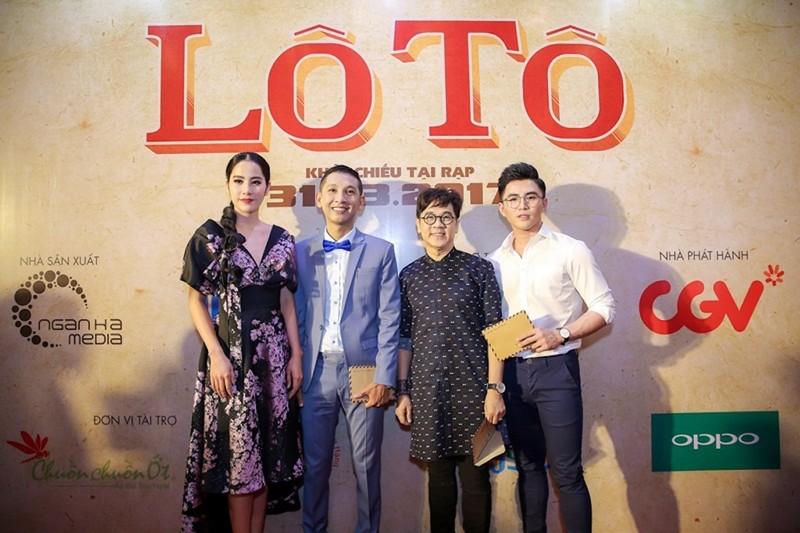 Sao Việt nô nức chúc mừng dàn diễn viên phim Lô tô - ảnh 1