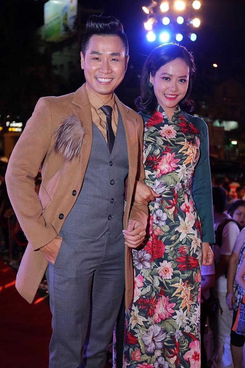Diễn viên Hồng Ánh và MC Nguyên Khang là hai người dẫn dắt lễ trao giải