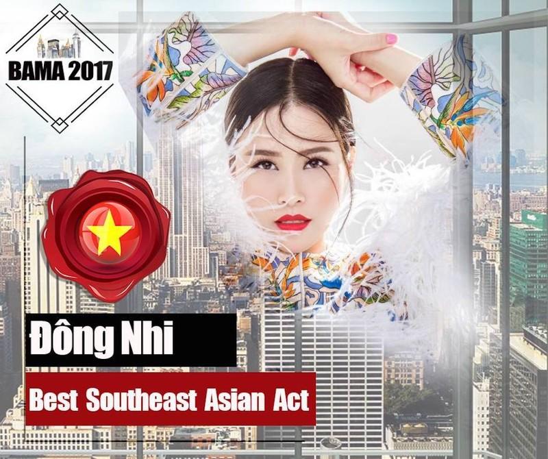 Đàm Vĩnh Hưng, Đông Nhi được đề cử giải âm nhạc quốc tế - ảnh 2