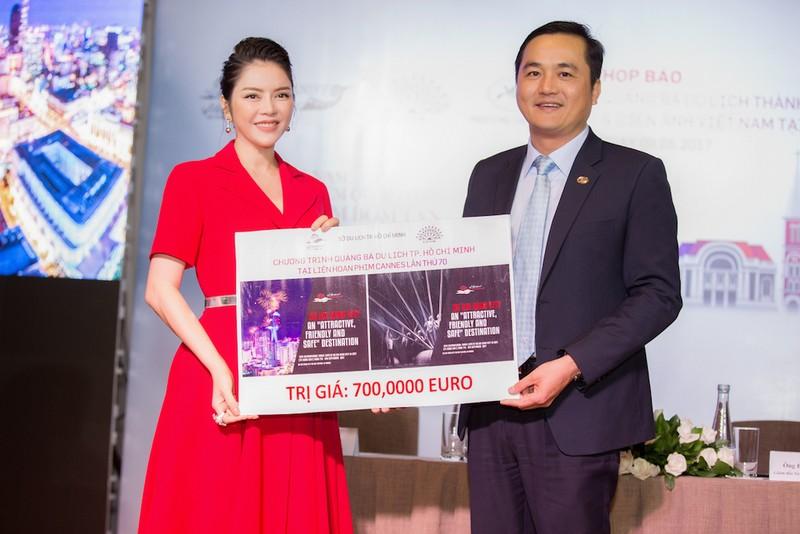 Lý Nhã Kỳ chi 25 tỉ quảng bá Việt Nam ở LHP Cannes - ảnh 1