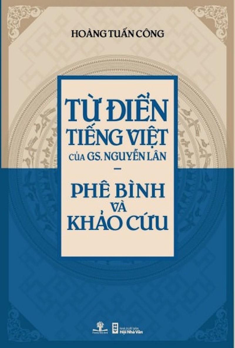 Sách bắt lỗi từ điển GS Nguyễn Lân nhận giải Sách hay - ảnh 1